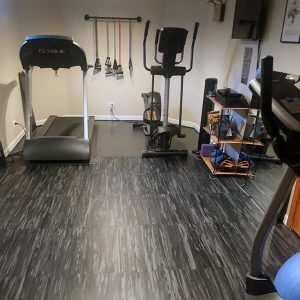 DIY Rubber Flooring
