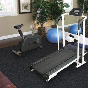 Exercise Room DIY Rubber Flooring